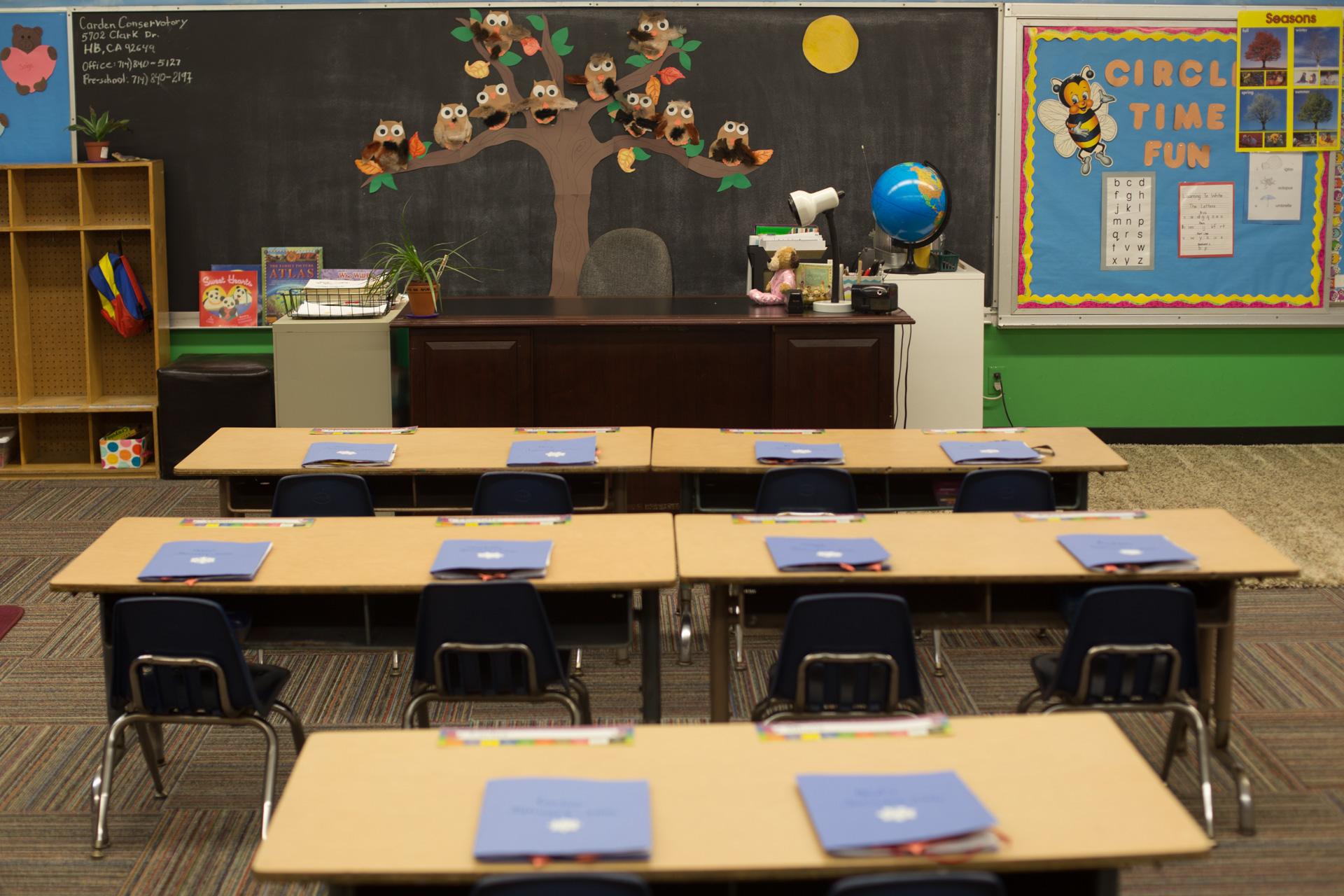 Junior Kindergarten Classroom